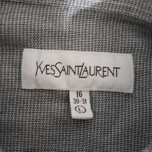 Yves Saint Laurent Shirts - Yves Saint Laurent longsleev buttondown shirt sz L